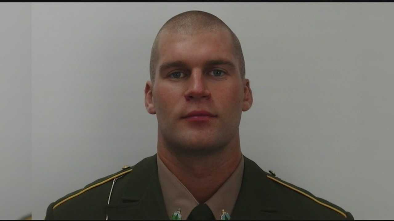 Vermont State Police have identified a trooper who collapsed Thursday at a gun range and died.