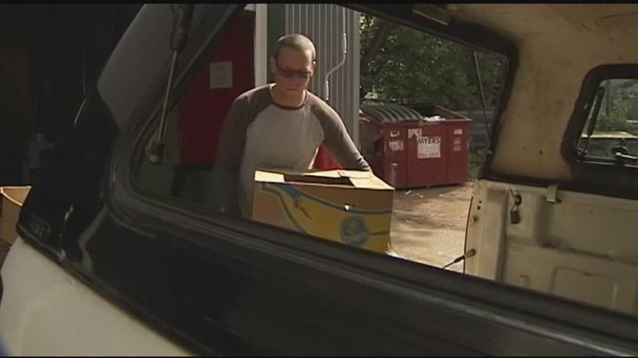 Vermont Food Bank reports a surge in donations of fresh produce this year --the reason might surprise you.
