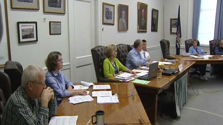Plattsburgh city counselors discussed snow removal requirements at their meeting Thursday evening.