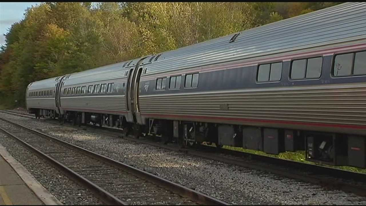 Crews removed three of five derailed Amtrak cars from the tracks Tuesday afternoon.