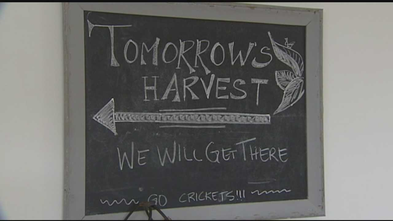 Tomorrow's Harvest fundraising to meet goal
