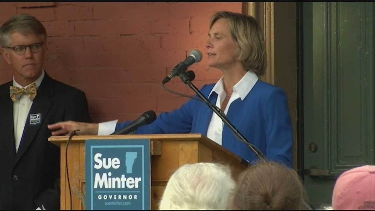 Minter is the former transportation secretary for Vermont