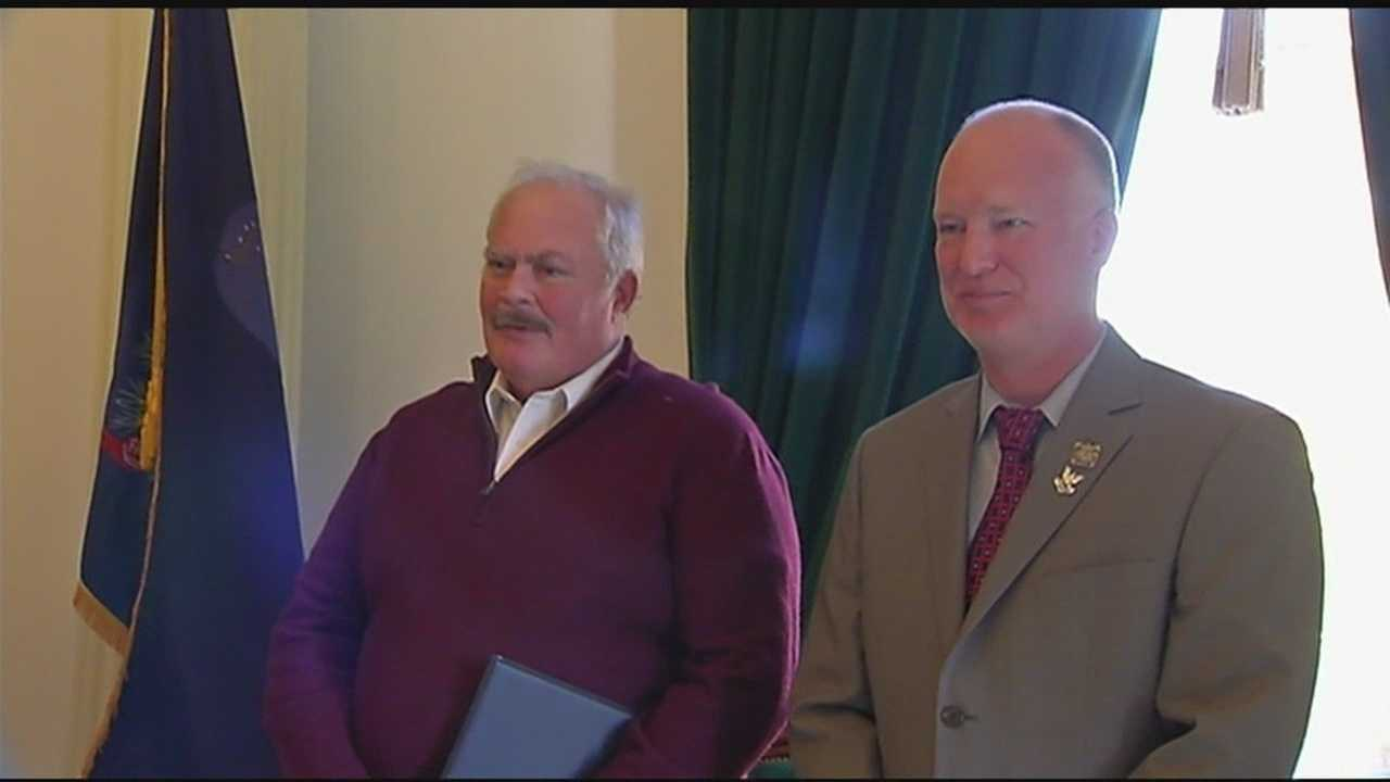 "The Veterans of Foreign Wars Post 790 in Barre, Vermont, honored three men with the VFW's prestigious ""lifesaving award"" Thursday, in a ceremony at the Vermont Statehouse in Montpelier."
