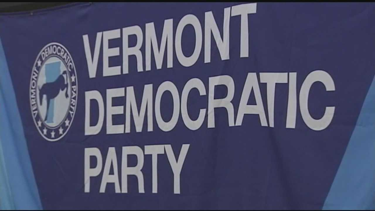 Vermont's Democratic Party hosted a viewing of the debate at UVM