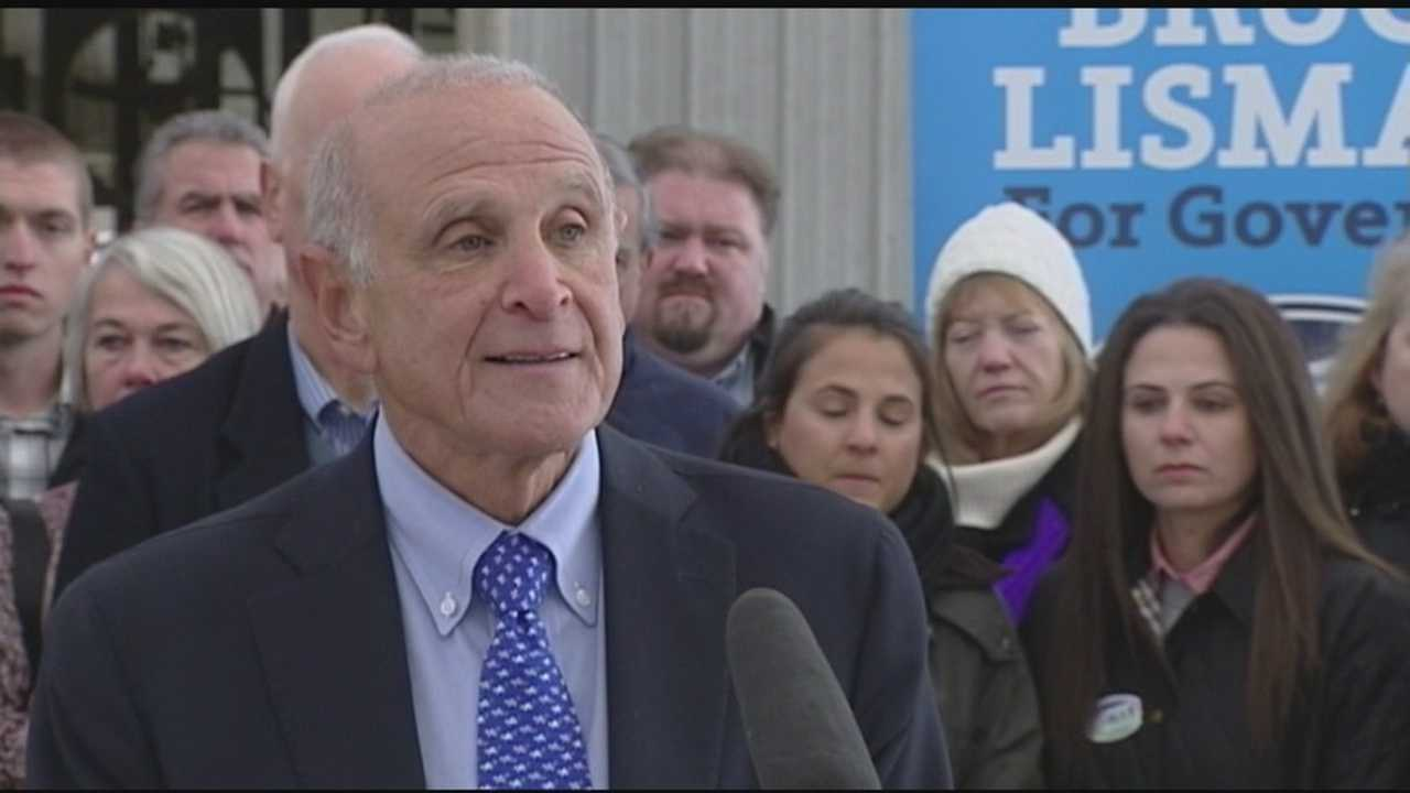 Bruce Lisman launched his GOP bid for governor of Vermont Monday at a farm in Sheldon with a blistering critique of the incumbent governor's record and competence.