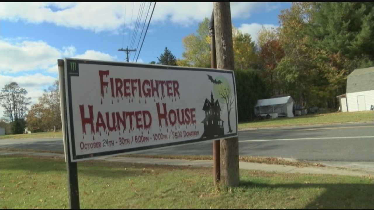 The annual Firefighters' Haunted House is scheduled to start on October 24 at 6 p.m. at the former Cadyville Elementary School on Route 3.