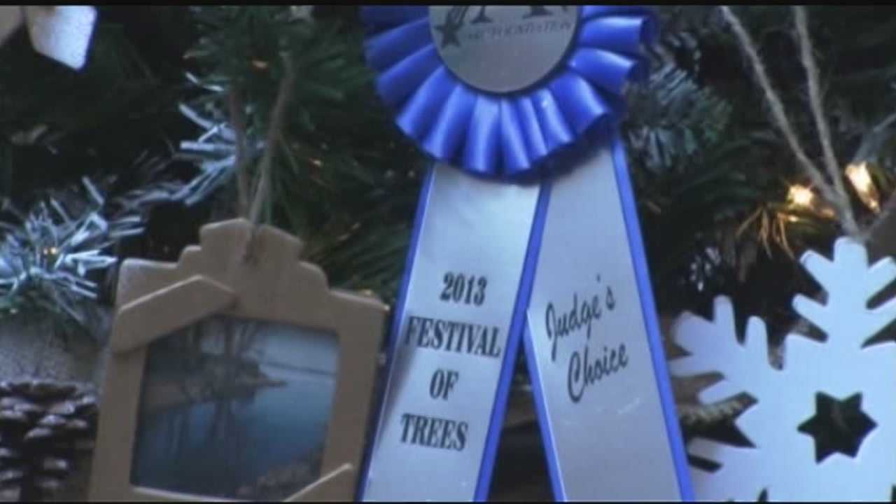 The annual Festival of Trees is coming up at the Champlain Centre Mall. All proceeds go to the Advocacy Resource Center.