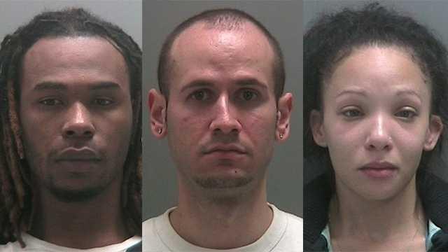 Taurian West, 27, Christopher Mason, 26, Beatriz Cruz, 27