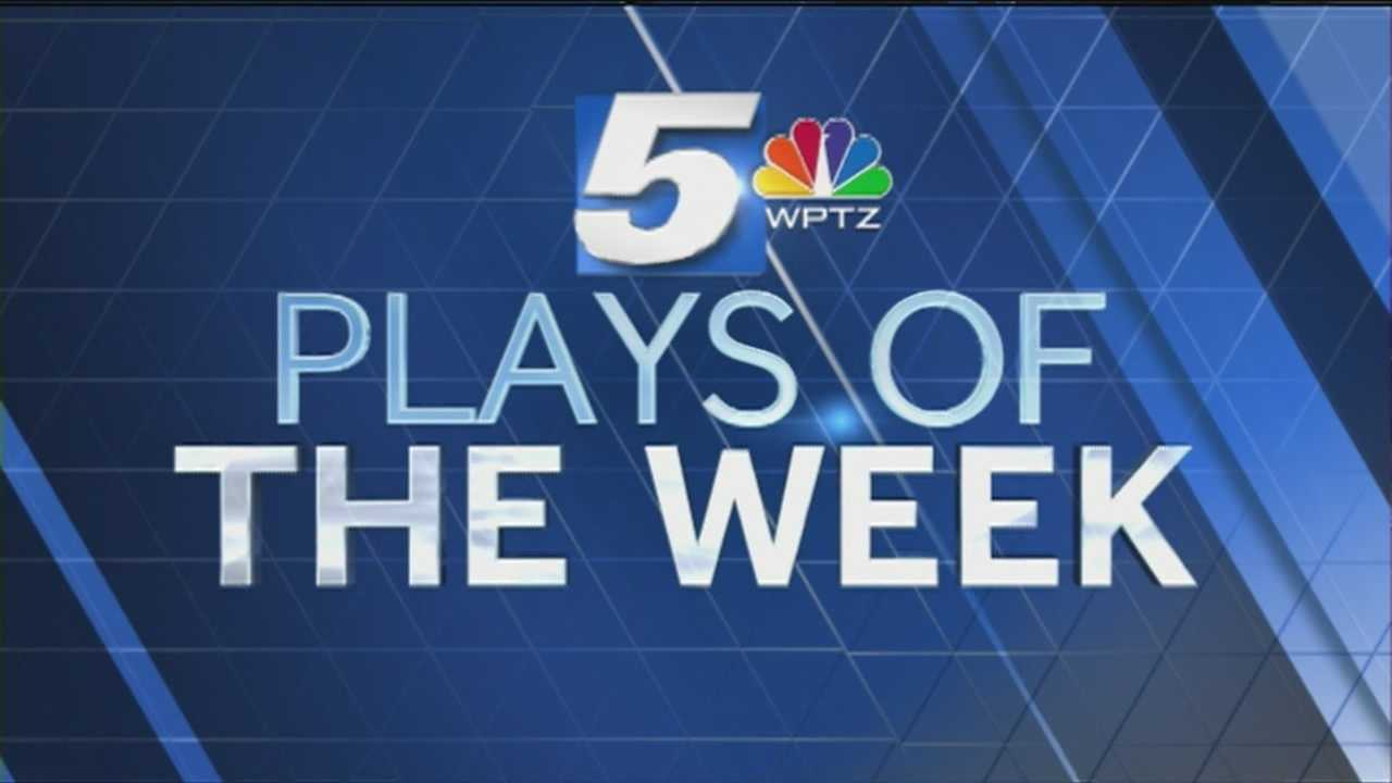 WPTZ's new Top 5 Play nominees for the week of October 26th - Nov 1st