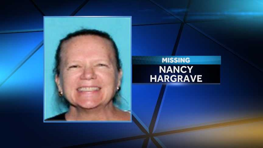 Vermont State Police are looking for a missing Charlotte woman, troopers said. Nancy Hargrave, 58, was last seen by family on Oct. 28 at her residence. Police said investigation has indicated she might be in Rhode Island.