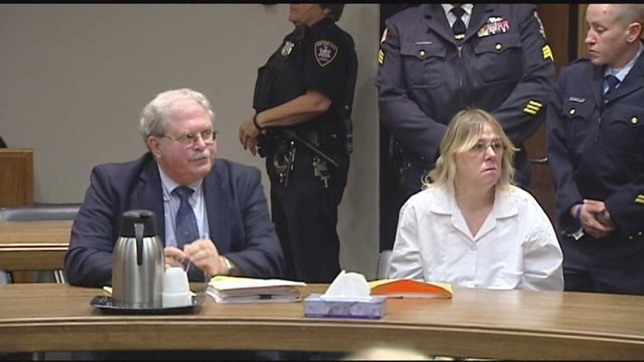 Joyce Mitchell was ordered to pay nearly $80,000 to the state of New York at her restitution hearing on Friday.