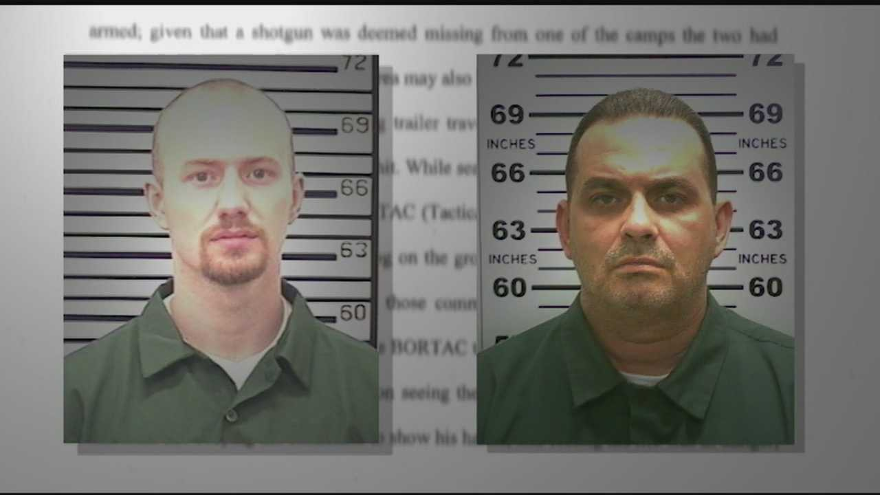 The Franklin County district attorney issued a report Thursday afternoon clearing the two law enforcement officers who shot fugitive state prison inmates Richard Matt and David Sweat.