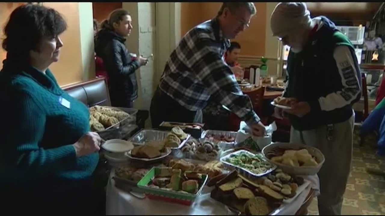 For 26 years, Sweetwaters has opened its doors on Thanksgiving Day. It started off as way to help the homeless in need.