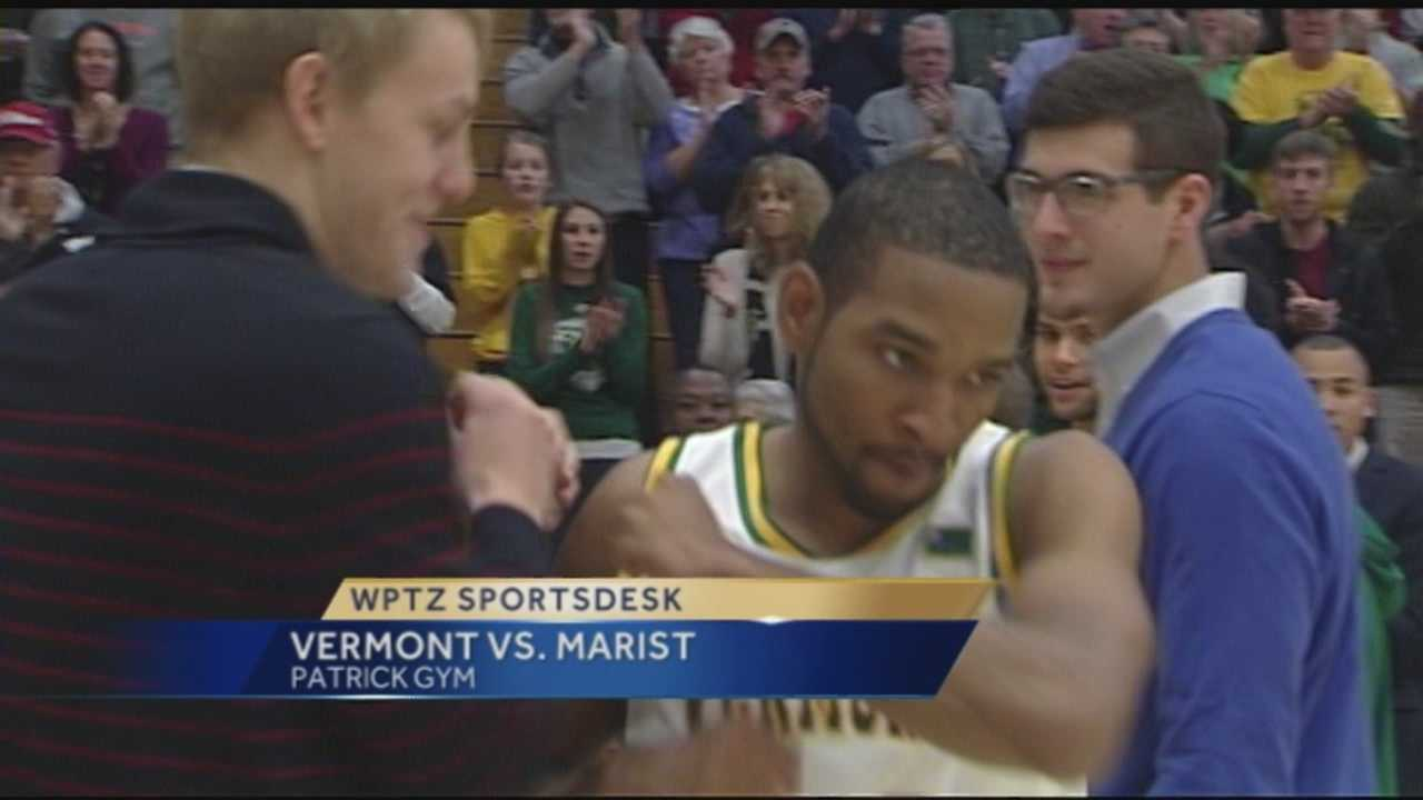 The UVM men's basketball team returned from its road trip to blow out Marist at Patrick Gym, 86-60.