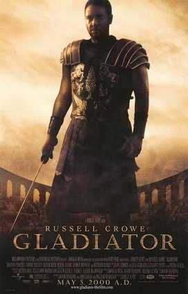 "Ridley Scott's ""Gladiator"" was released in 2000 and would eventually go on to win the Academy Award for Best Picture."