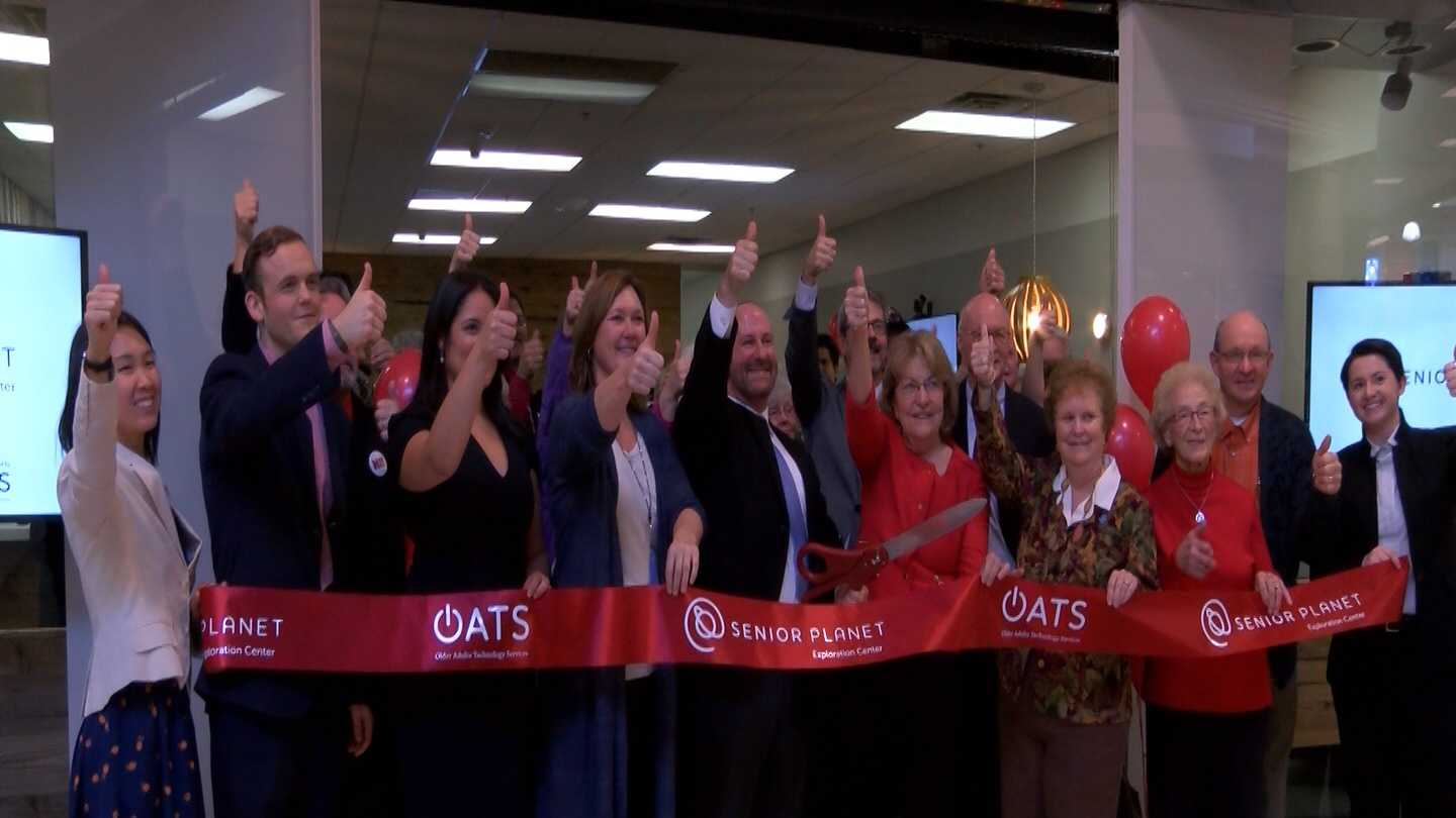 The North Country Senior Planet held its grand opening on December 10 at the Champlain Centre Mall.