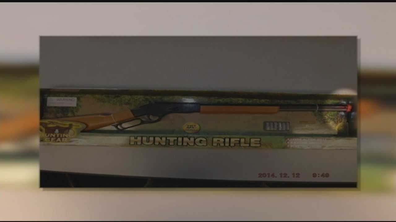 Realistic-looking toy guns sold in Plattsburgh