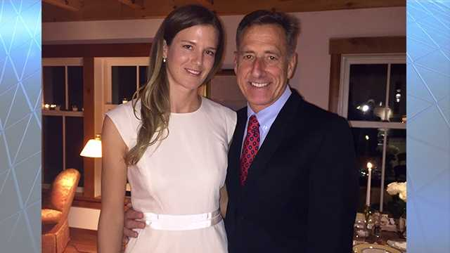 Gov. Peter Shumlin marries longtime partner, Katie Hunt.