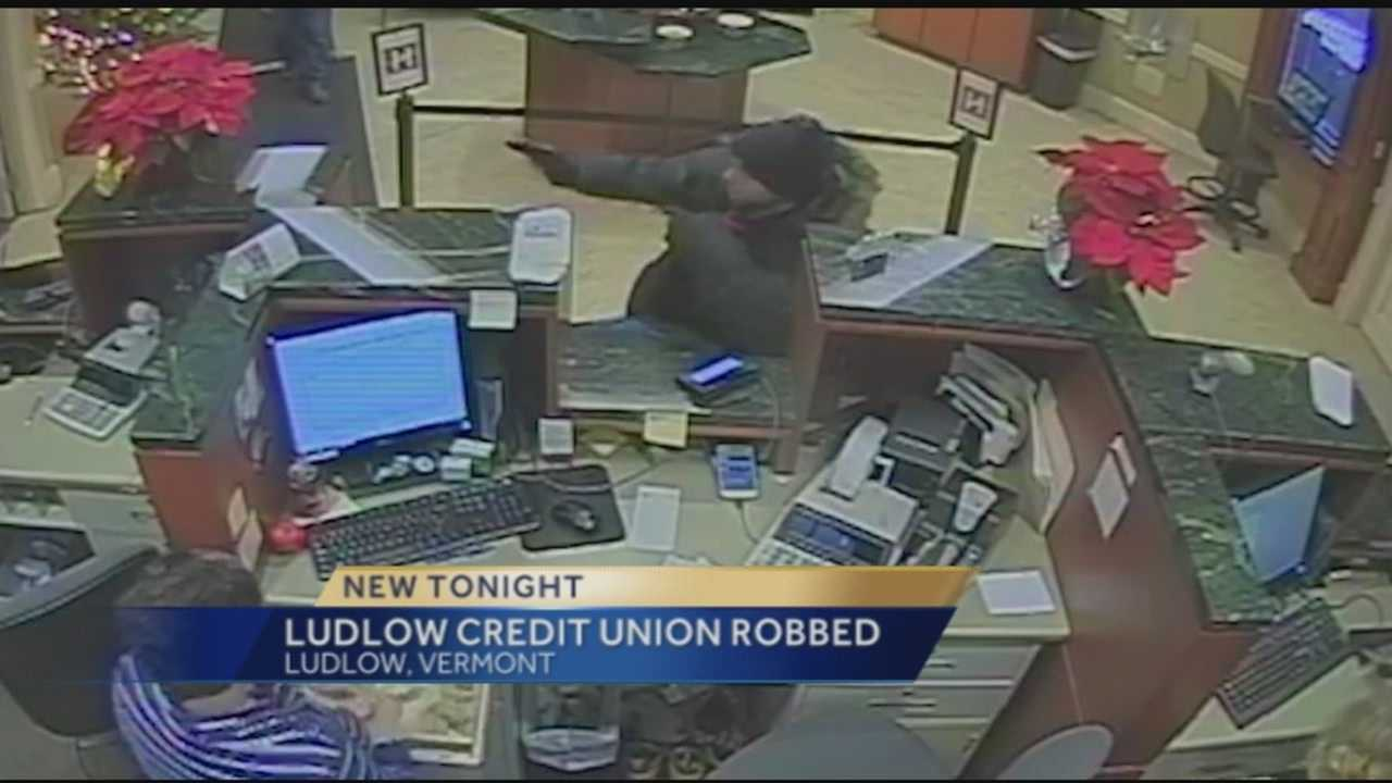 Police in two states are searching for a man who allegedly robbed a bank Monday afternoon in Ludlow, Vermont.Anyone with information on the robbery or Martin's whereabouts was asked to call state police at 802-875-2112.