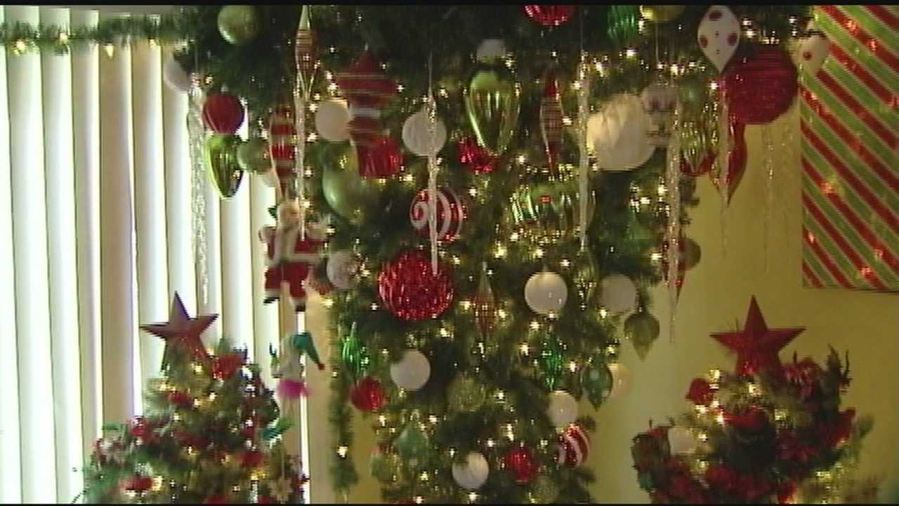 David and Sandy Joy go above and beyond when it comes to decorating their house for the holidays.