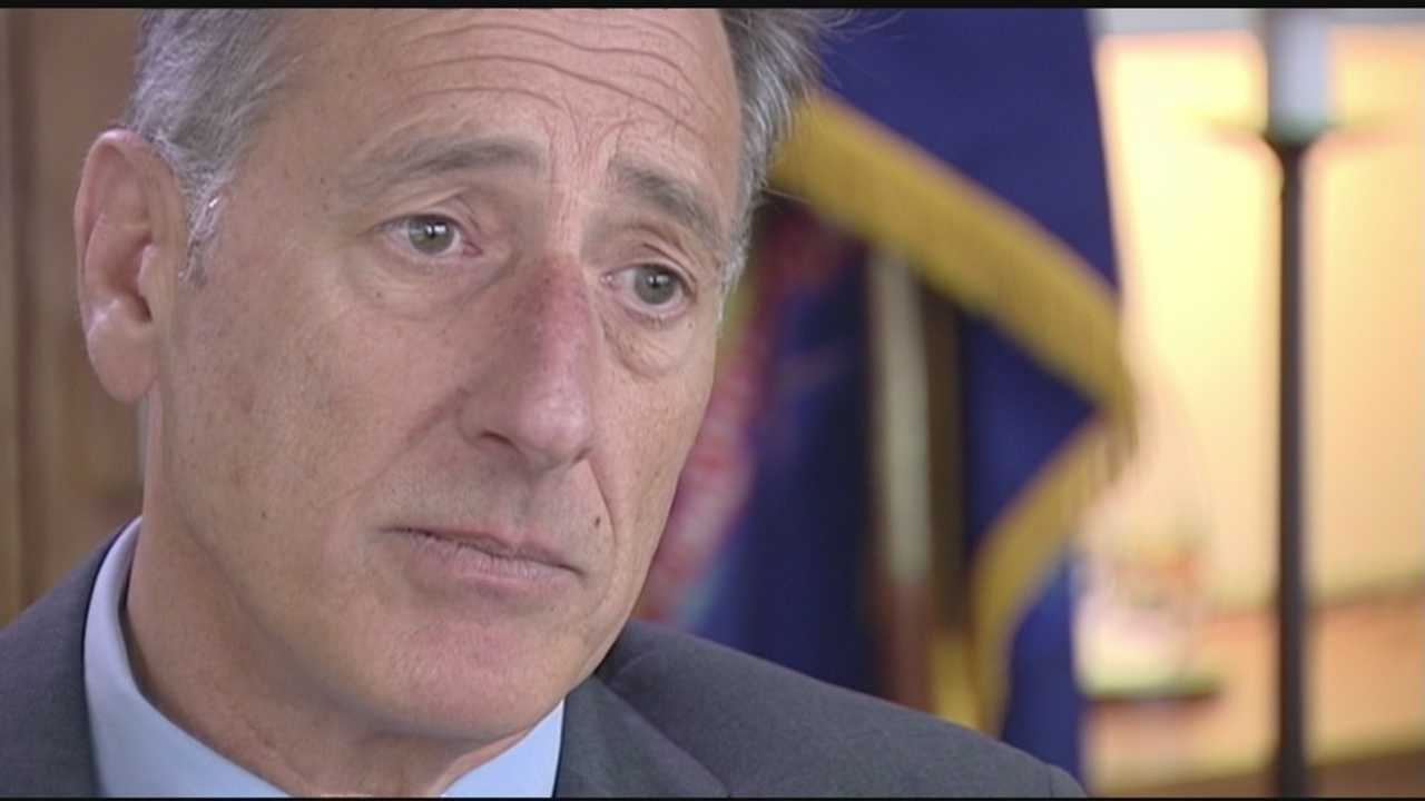After saying he'd announce his decision by now, Gov. Peter Shumlin says he's still struggling over whether he could sign any bill to legalize marijuana in 2016.