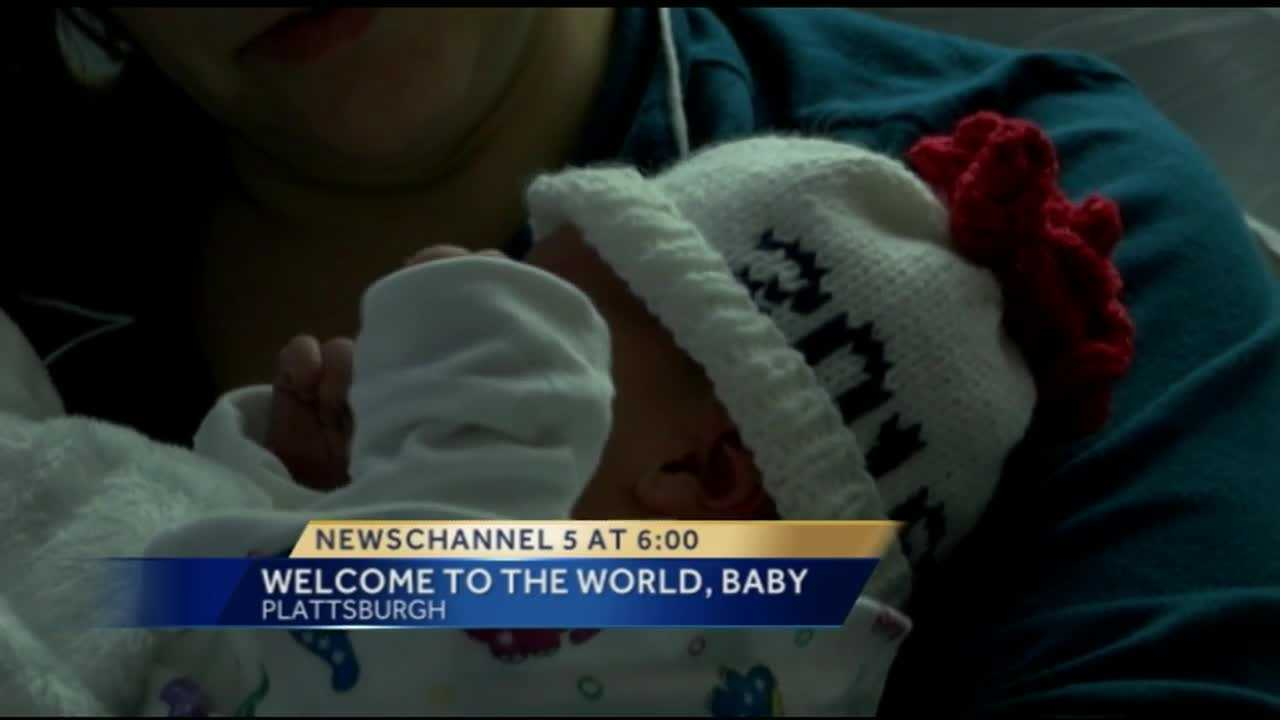 A baby boy born just before 2 a.m. is the first birth of 2016 at UVM Health Network CVPH.