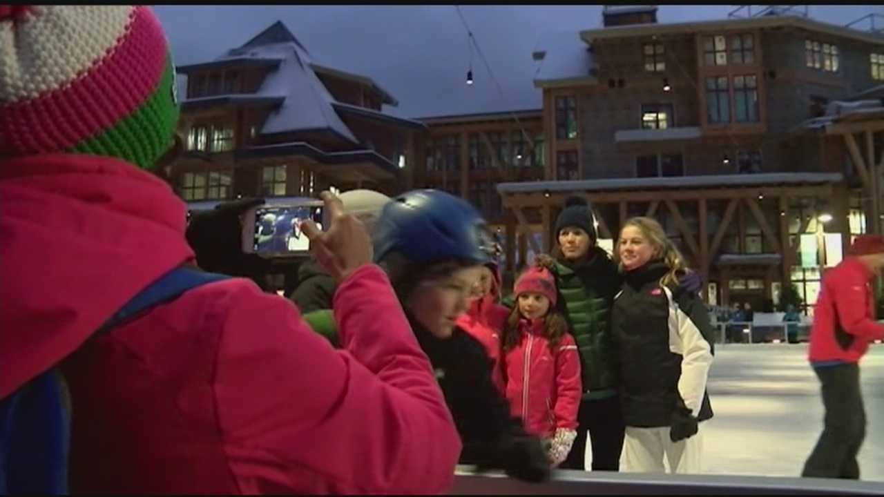 Olympic medalist kicks off 2016 in Vermont