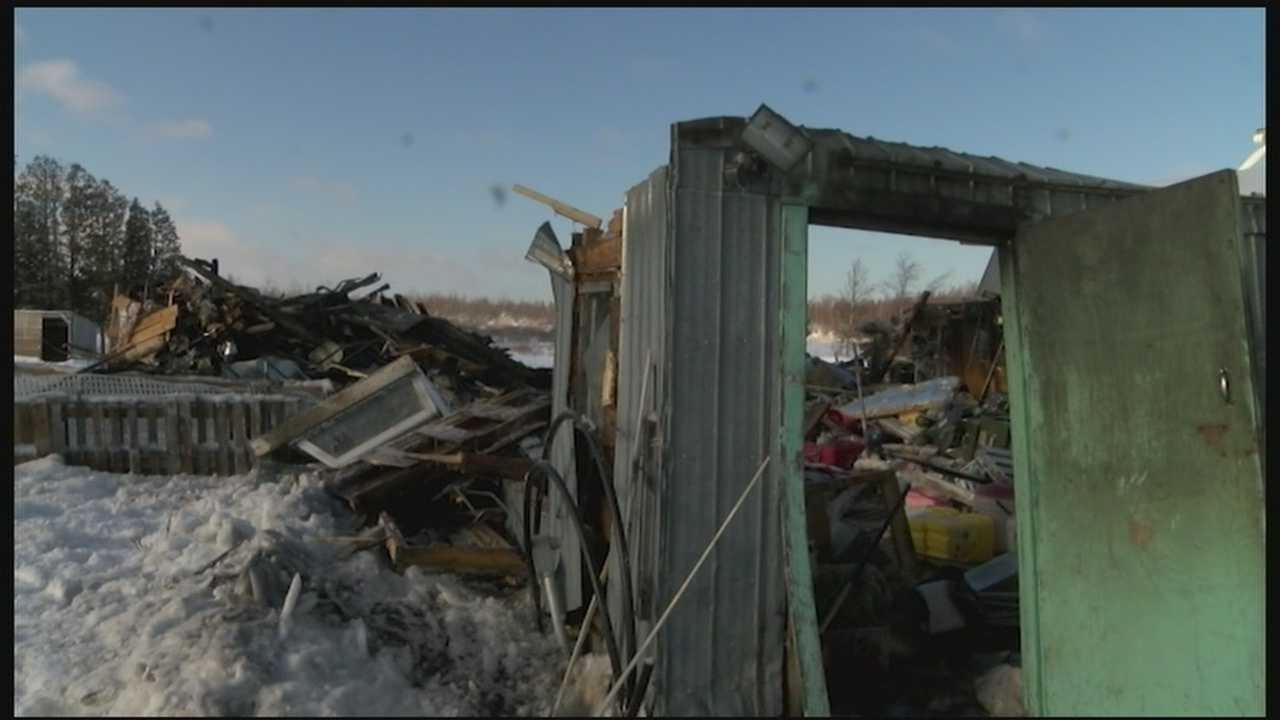 About 50 chickens, a couple goats, and rabbits died in a barn fire in Churubusco early Monday morning.