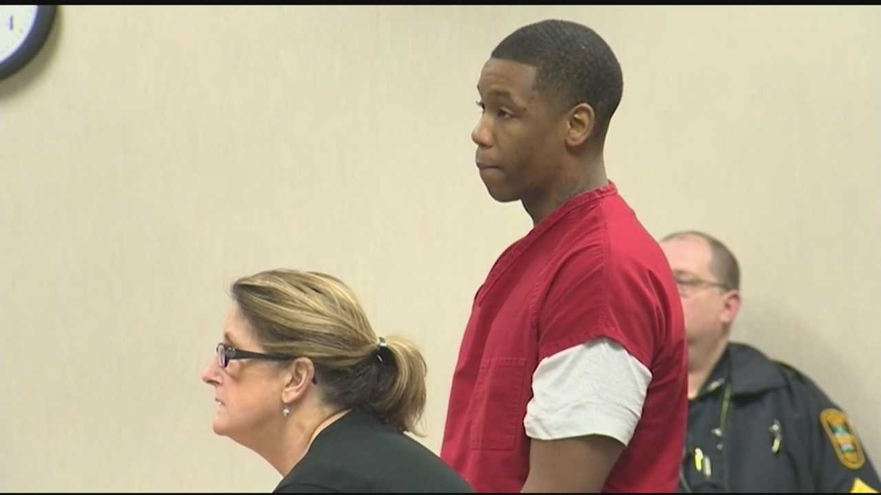 Chavis Murphy, 24, was arraigned for killing a New York City gang member outside of the Zen Lounge on Lower Church Street in Burlington. WPTZ's Renee Wunderlich was in the courtroom.