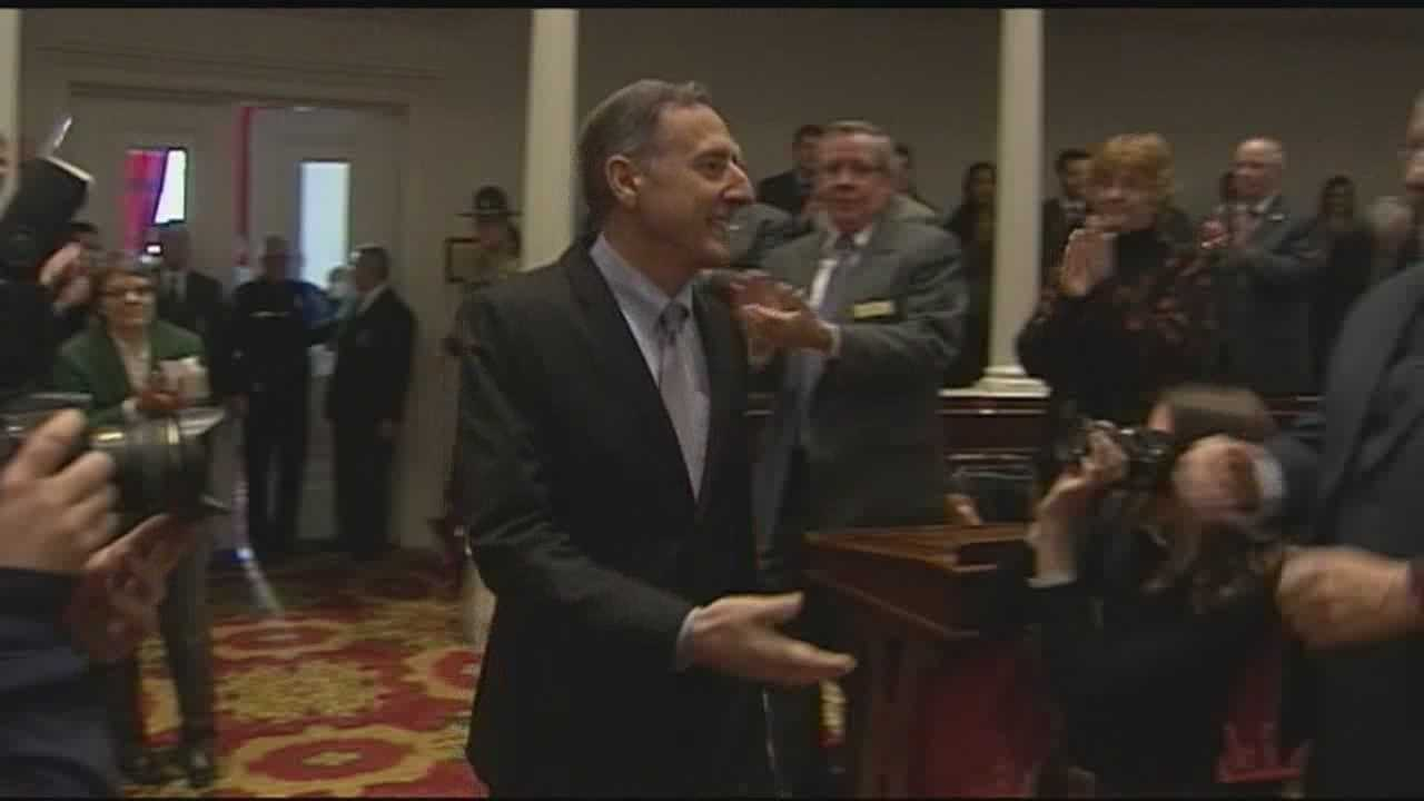 Gov. Shumlin backed tighter opiate rules, expanded college access, and legalized marijuana in his final State of the State address.