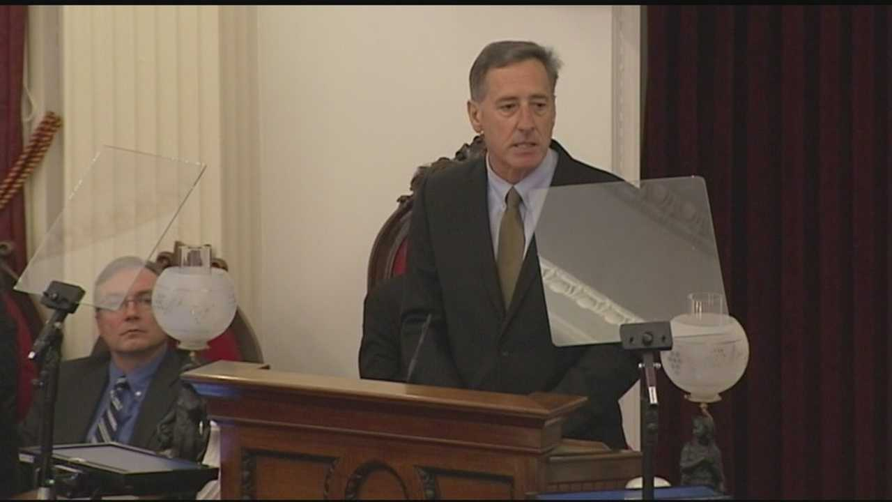 Gov. Peter Shumlin is proposing a mix of new revenue and spending restraint to balance the budget in the coming year, Critics were quick to pounce.
