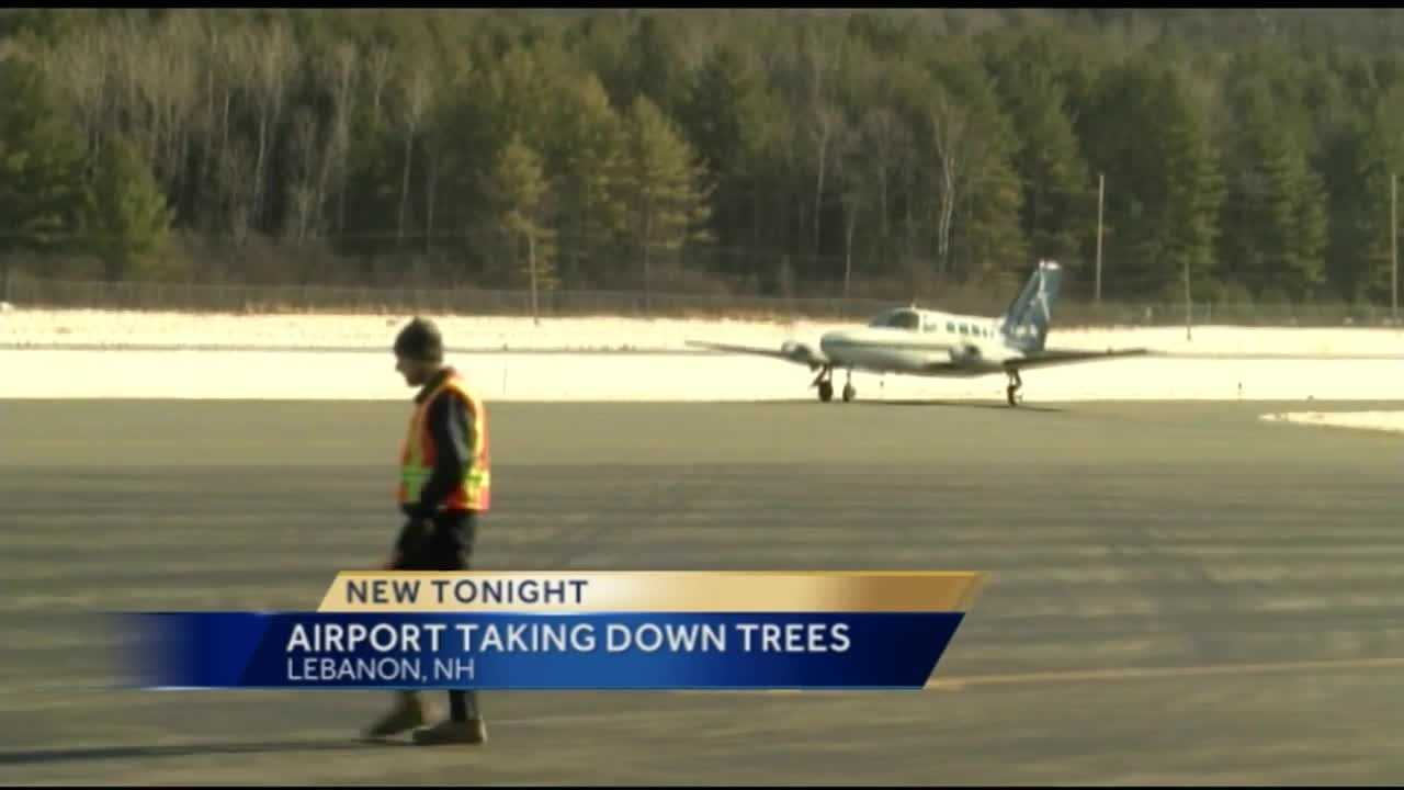 Lebanon Municipal Airport begins cutting down 30 acres of trees for FAA safety, but neighbors not happy about what's happening in their backyards.