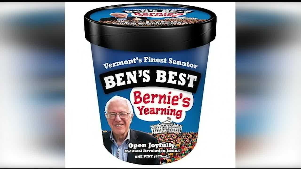 "Ben Cohen, the co-founder of the Vermont-based premium ice cream brand Ben & Jerry's, is showing his personal support for Democratic presidential candidate Bernie Sanders with an extremely limited-edition ice cream flavor he named ""Bernie's Yearning."""