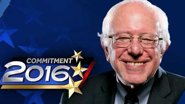 Vermont Sen. Bernie Sanders.
