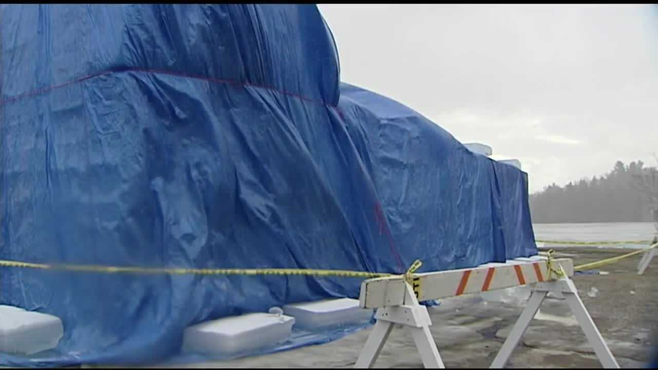 Saranac Lake Winter Carnival's ice palace construction has been postponed until Thursday due to weather.