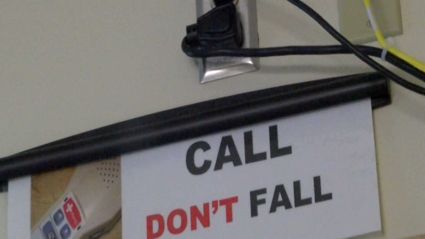 A program at the University of Vermont Medical Center Health Network CVPH Medical Center helps people who are at risk of falling in their rooms stay upright.