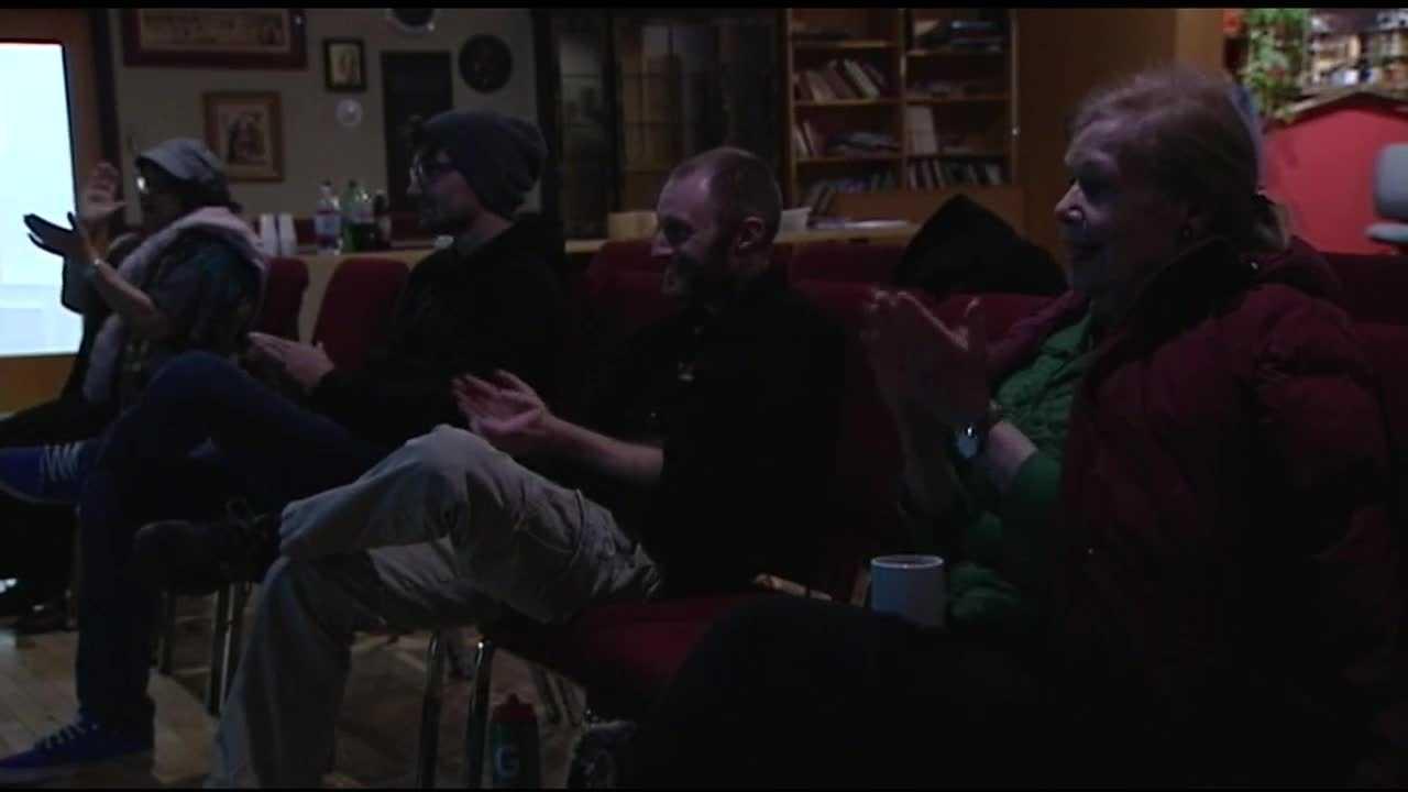 Burlington residents host watch party for Democratic Debate