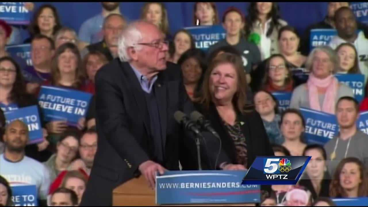 Bernie Sanders wins the Vermont Democratic Primary