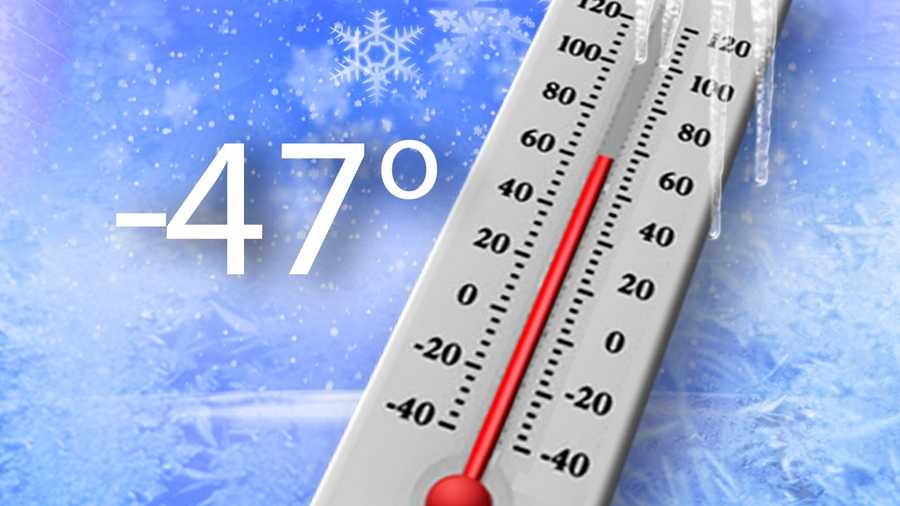Coldest temperature recorded in Vermont: -47 F degrees.