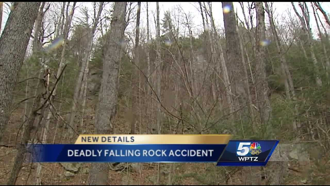 Police say 12-year-old Connor McLaughlin of Greenwich, NY was fatally struck by a boulder Sunday.