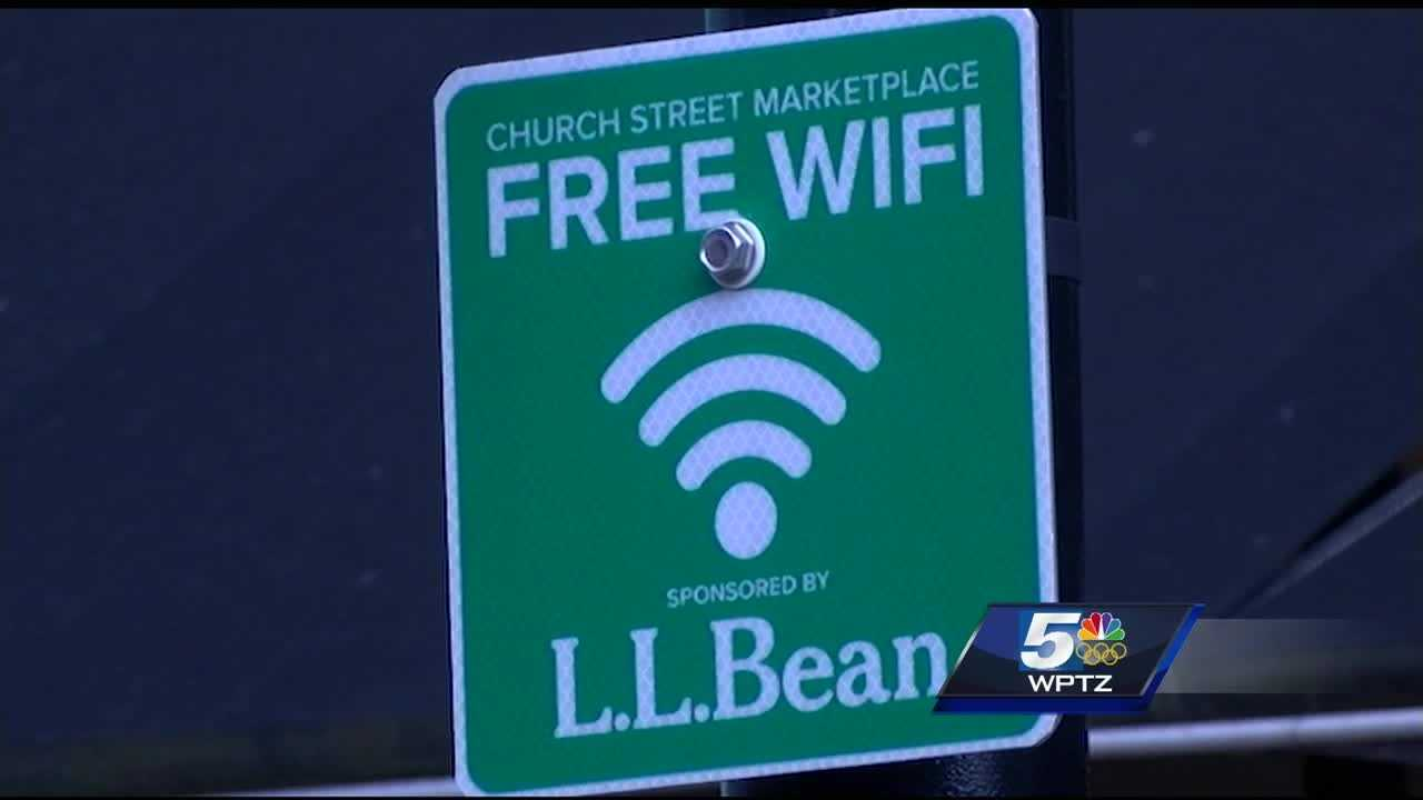 Church Street Marketplace offers free wifi to count visitor traffic