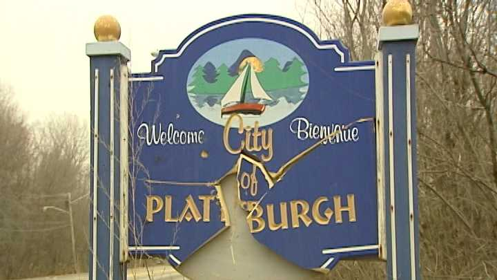 Plattsburgh police are now classifying the destruction of a city welcome sign as vandalism.