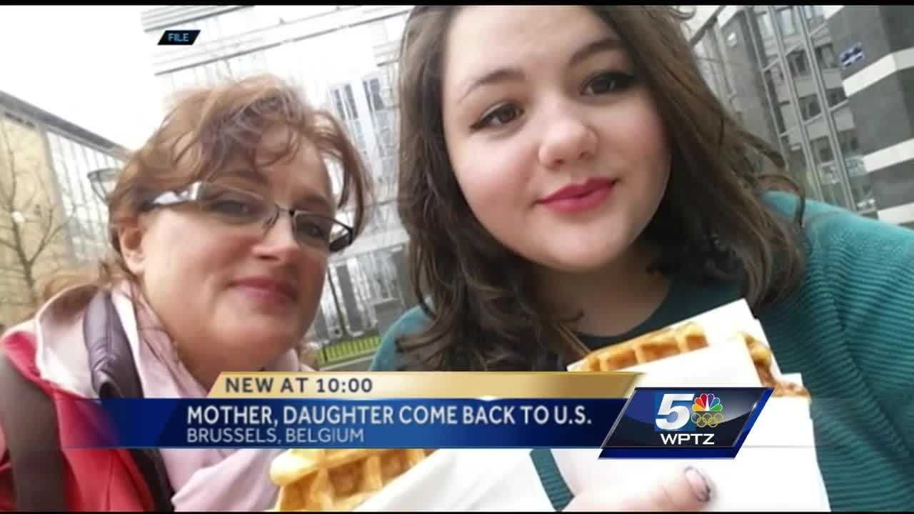 Anne and Hannah Goldman are home safe. The women flew from Germany to Atlanta, Georgia Wednesday evening after witnessing one of the Belgian terror attacks.
