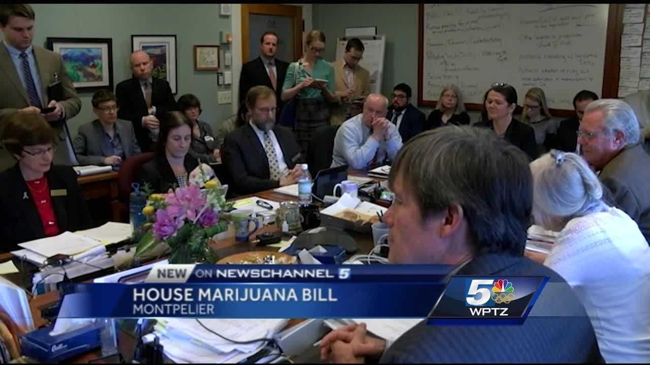 House Judiciary Committee passed an amendment to the Senate marijuana legalization bill.