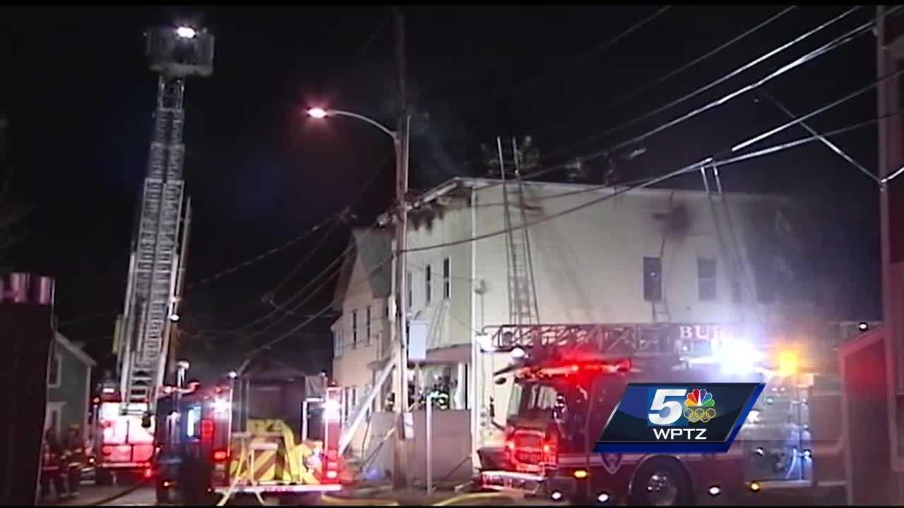 2 families were displaced after a 3 alarm fire on Haswell St. in Burlington.