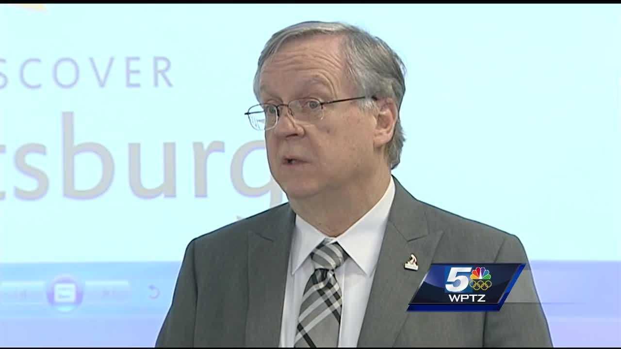 Plattsburgh mayor Jim Calnon is seeking re-election.