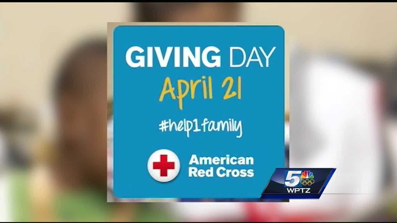 Red Cross raises money to help families in need with 'Giving Day'