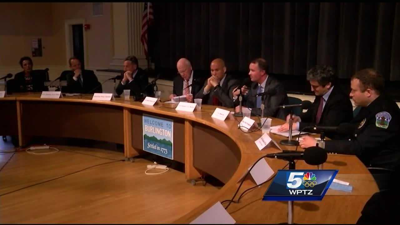 Several state and national Democratic leaders gathered in Burlington Monday for a forum on criminal justice reform.