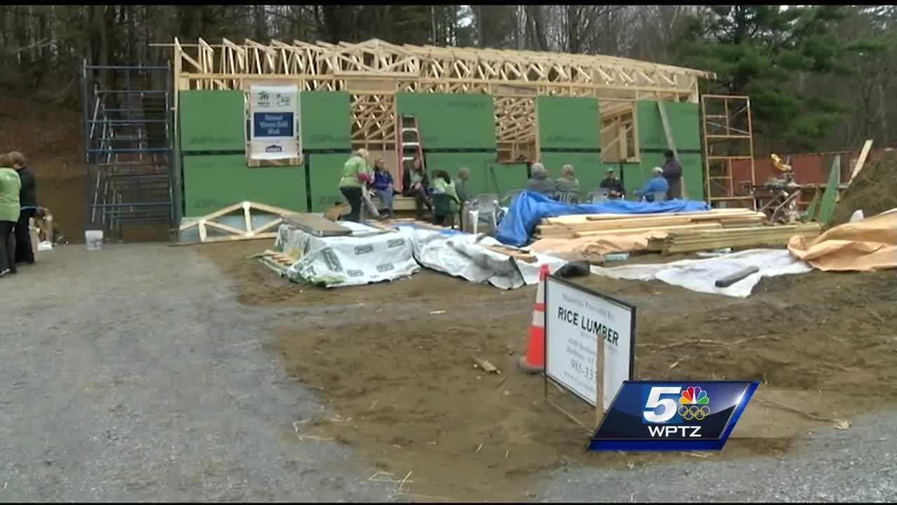 Effort is a part of National Women Build Week, hosted by Habitat for Humanity.