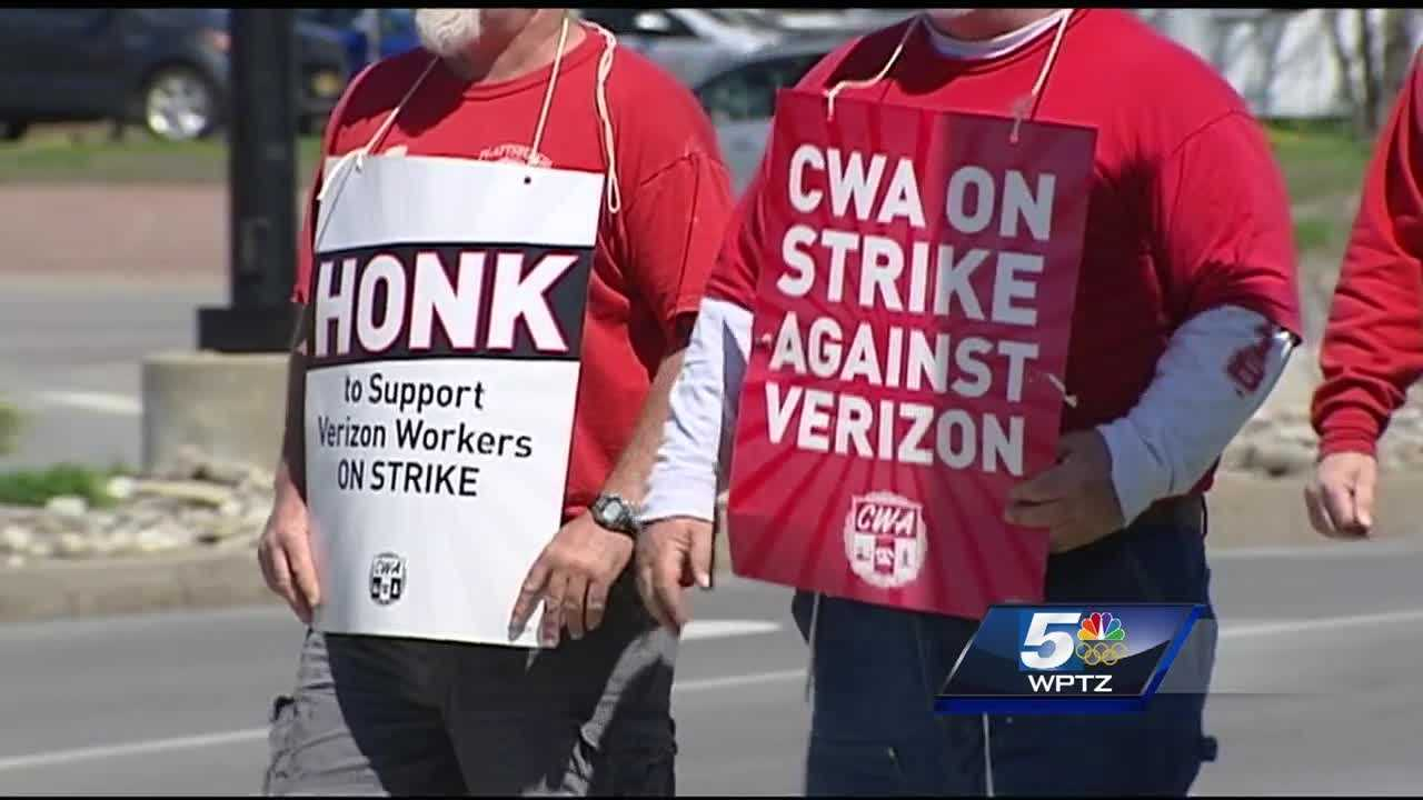 Verizon workers in Plattsburgh are wrapping up their fourth week of protests.